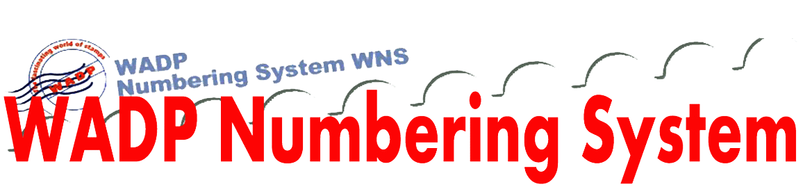 06 – WADP Numbering System